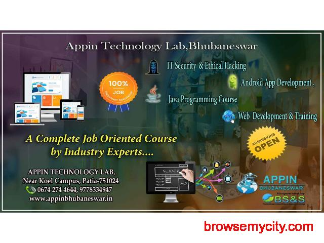 Ethical Hacking nd IT Security,Web Development,ANDROID,JAVA @ APPIN