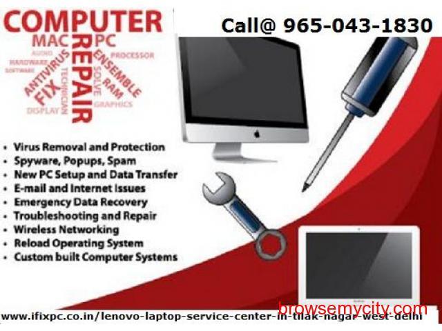 Onsite Lenovo laptop service center