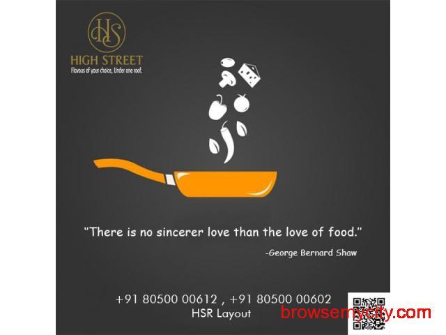 Top 10 Best Restaurants near me in HSR Layout - 74863