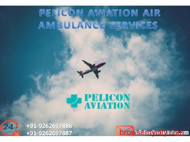 Book World-Class Air Ambulance Services in Guwahati by Pelicon Aviation - 1/1