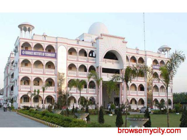 Rit Roorkee, Best Mechanical Engineering College In Uttarakhand, India. - 1/4