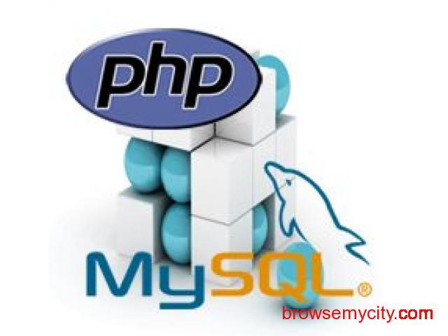 PHP MySQL Training Courses and Classes Institute in Thane Mumbai - 1/1