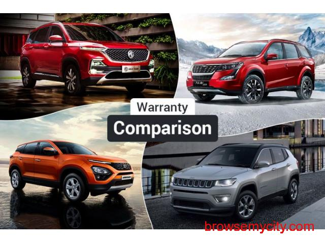 MG Hector Warranty, Maintenance Package Comparison: Better Than Harrier, Compass And XUV500? - 1/1