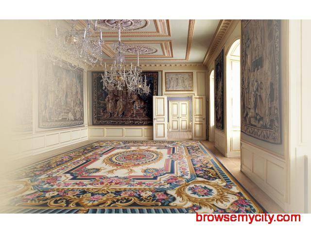 Designer Handmade Carpets & Rugs Showroom in Delhi – Hands Carpets - 2/3