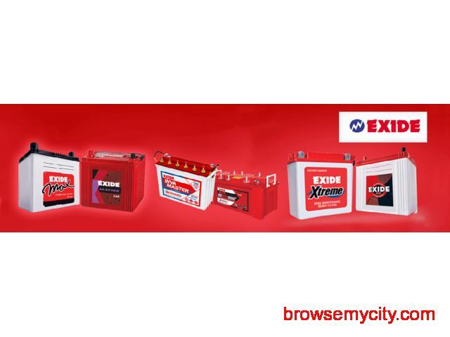 Exide   Buy Car and Inverter Batteries  at MeraBattery.com - 1/1