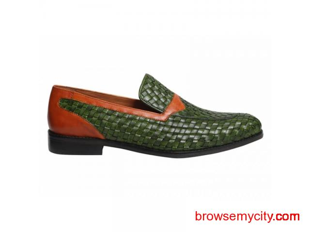 Buy Men Leather Loafers Online - 6/6