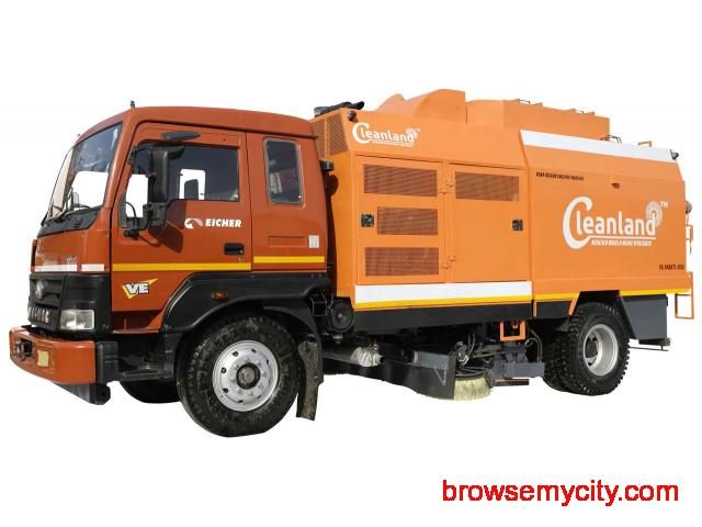 CLEANLAND: Truck Mounted Sweeping Machine INDIA - 1/4