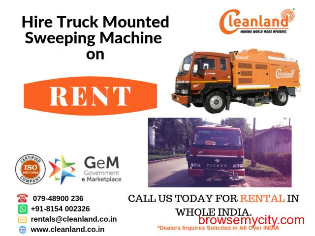 CLEANLAND: Truck Mounted Sweeping Machine INDIA - 4/4