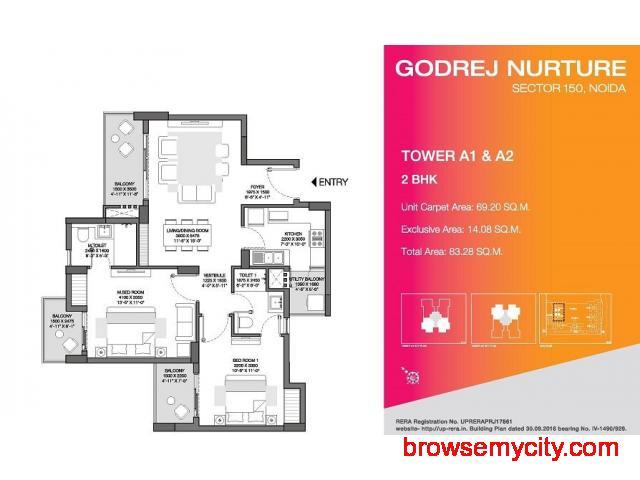Godrej Nurture Godrej Nurture Noida Extension - 2/6