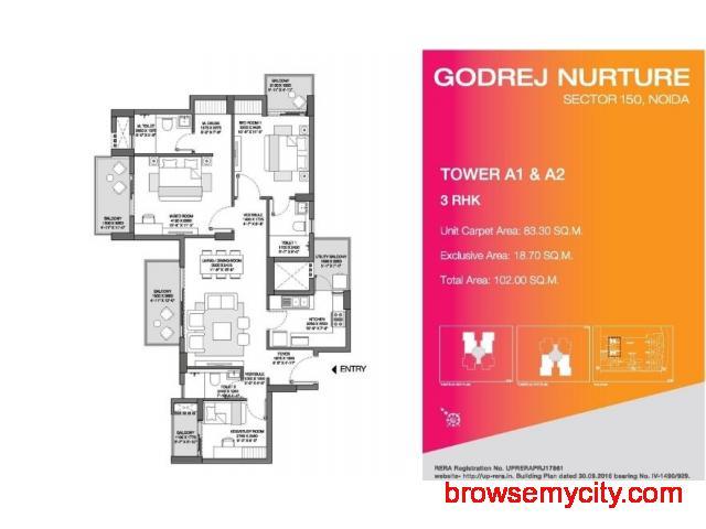 Godrej Nurture Godrej Nurture Noida Extension - 3/6