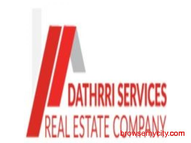 Best Real Estate company in Hyderabad | Dathrri Services - 1/1