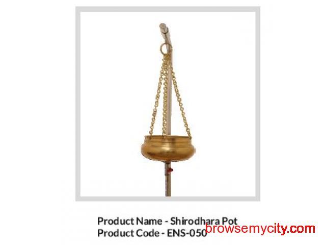 Ensis Spa & Panchkarma shirodhara pot - 1/1