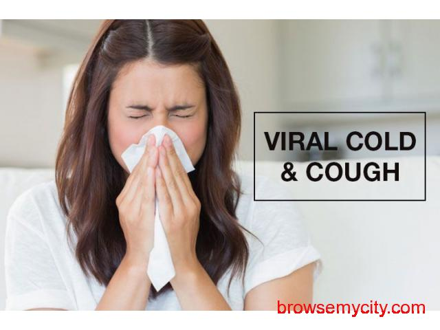 Symptoms, Causes, Treatment And Remedies For Viral Cold And Cough - 1/1
