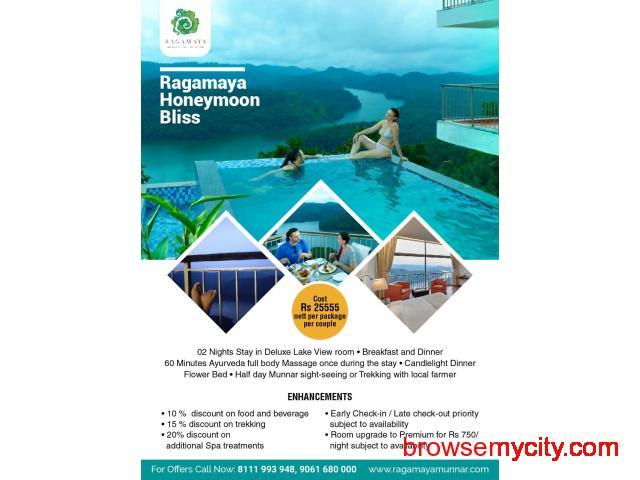 Ragamaya Honeymoon Bliss – Best Honeymoon Resort In Munnar - 1/1