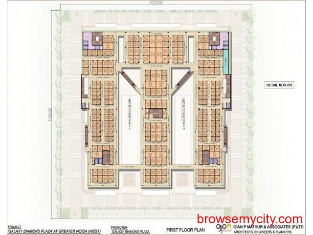Galaxy Diamond Plaza|Sector 4 Noida Extension - 2/6