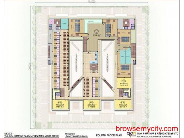 Galaxy Diamond Plaza|Sector 4 Noida Extension - 3/6