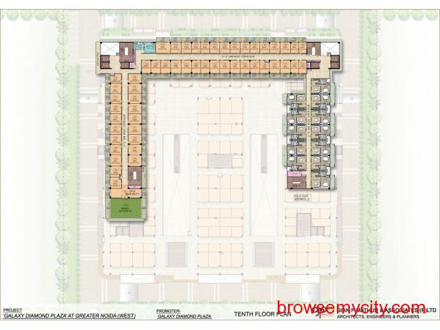 Galaxy Diamond Plaza|Sector 4 Noida Extension - 4/6