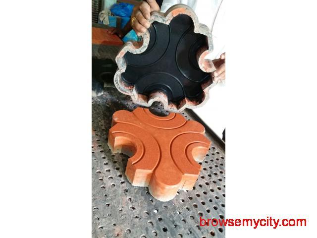 JR Rubber Industries | Rubber moulds for paver blocks - 1/4