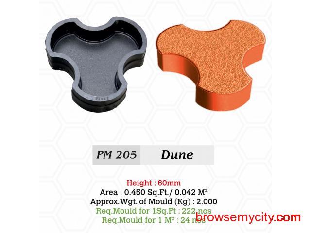 JR Rubber Industries | Rubber moulds for paver blocks - 3/4