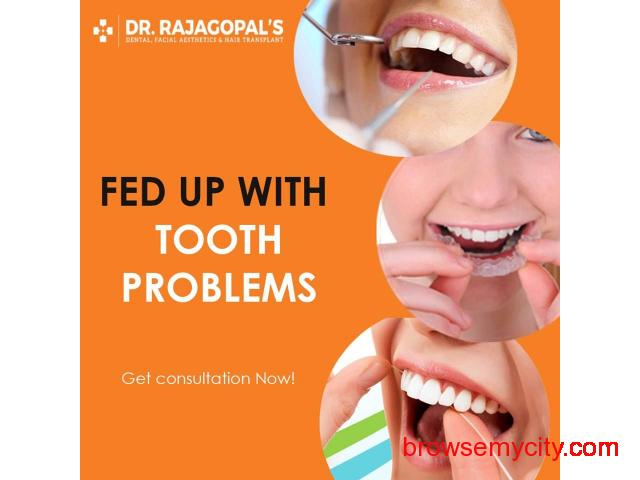 Dental Implants For Missing Teeth - Dr. RajaGopal's Clinic. - 1/1