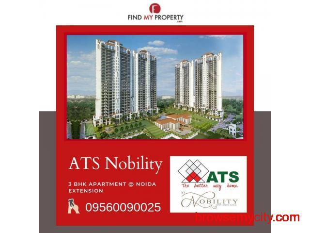 3 Bhk Apartments at Noida Extension - 1/4