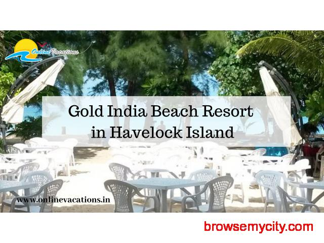 Gold India Beach Resort in havelock Island - 1/1