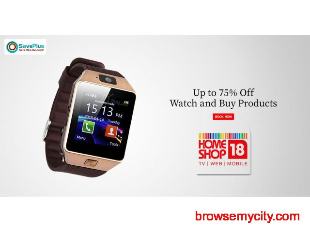 Up to 75% off Watch and Buy Collections - 1/1