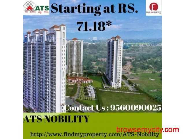 ATS Nobility 3BHK Apartment in Noida Extension - 1/3
