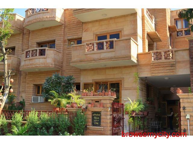 Get Apnayt Villa in,Jodhpur with Class Accommodation. - 1/4