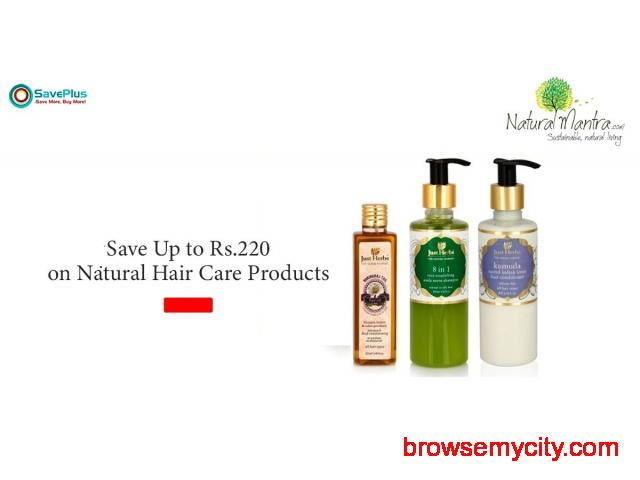 NaturalMantra Coupons, Deals & Offers: Up to Rs.245 Off Natural Health Suppleme - 1/1