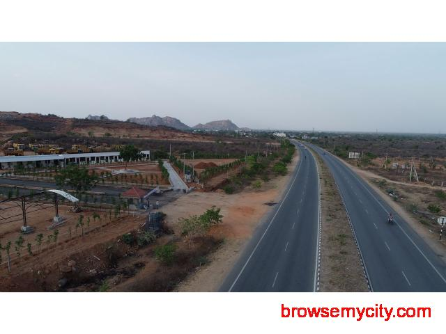 Open plots for sale in bhongir - 1/2