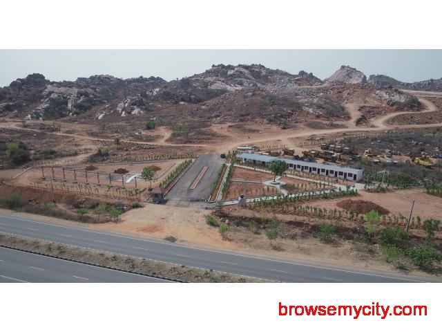 Open plots for sale in bhongir - 2/2