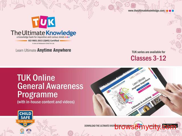The Ultimate Knowledge (TUK) | Online Portal for General Knowledge - 2/3