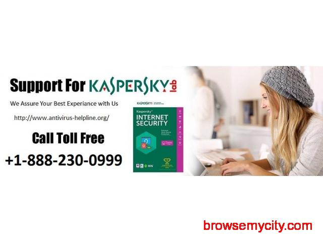 Dial Kaspersky customer service number UK to erase non-working of antivirus - 1/1