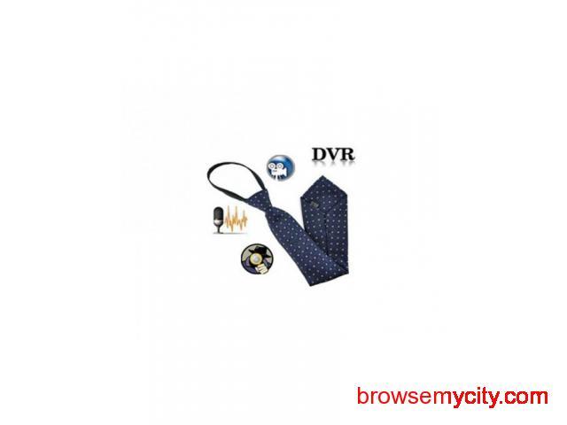 Buy Spy HD Necktie Camera Online at best price in Delhi India - 1/1