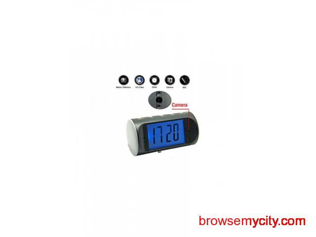 Buy Spy HD Digital Table Clock Camera Online at Best Price Delhi India - 1/1