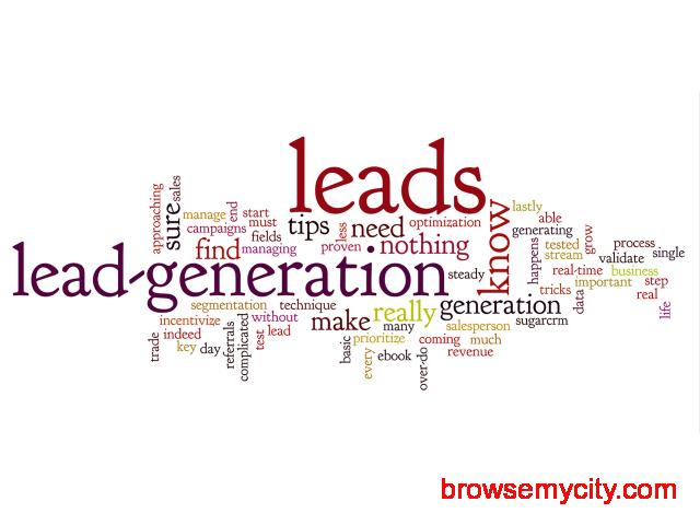 Lead Generation - Best Lead Generation Services to identify and cultivate potential customers. - 1/2