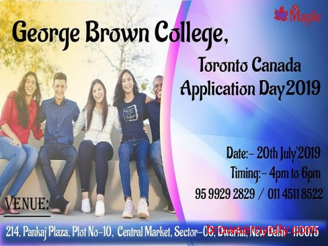 George Brown College, Toronto Canada Application Day  - 20th July'19 - 1/1