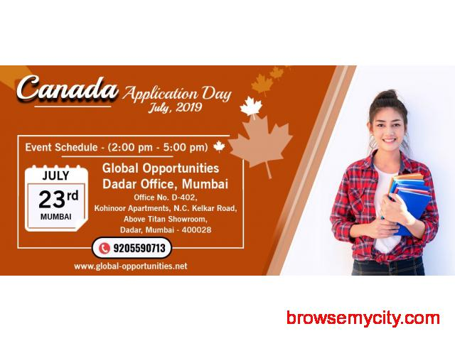 Register for Canada Application Day 2019 - Mumbai - 1/1
