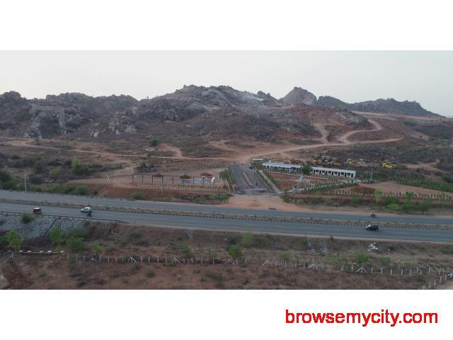 Open plots for sale in Hyderabad - 1/4