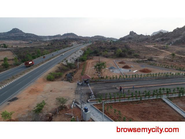 Open plots for sale in Hyderabad - 3/4