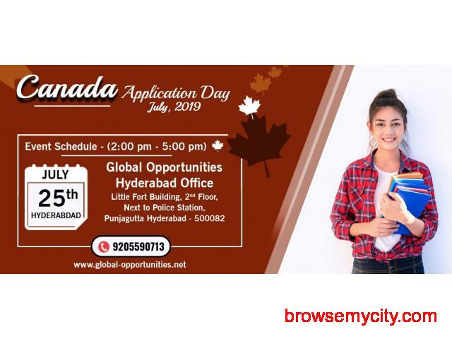 Register for Canada Application Day – Hyderabad - 1/1