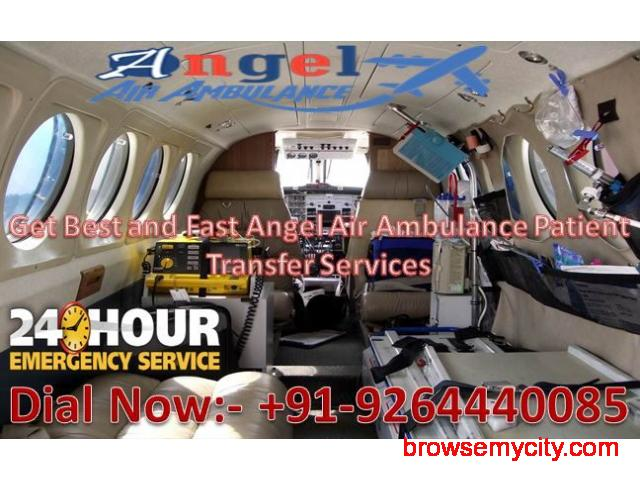 Get Benefits of Angel Air and Train Ambulance in Gaya at Best and Low-Cost - 1/1