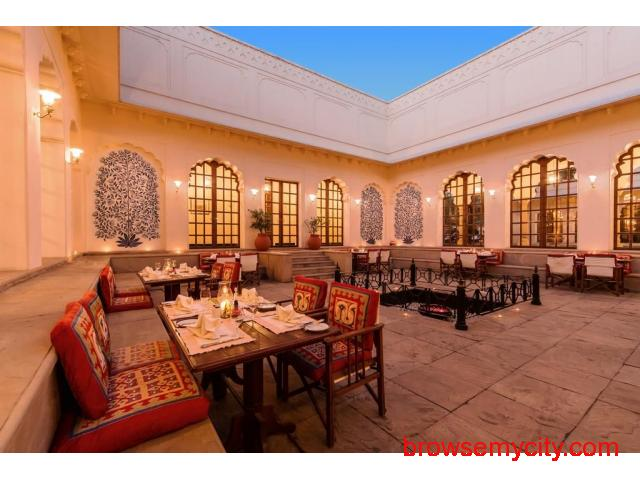 Get The Oberoi Vanyavilas in,Ranthambore with Class Accommodation. - 3/3