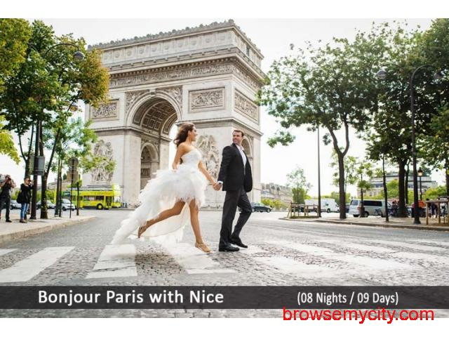 Paris Nice Honeymoon Tour Packages from India - 1/1