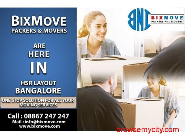 Packers and Movers HSR Layout - 1/1