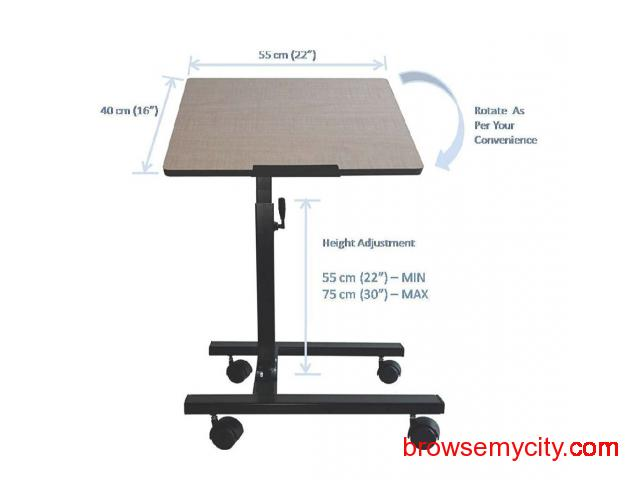 Multipurpose Table-Height n Angle Adjustable/ - 1/5