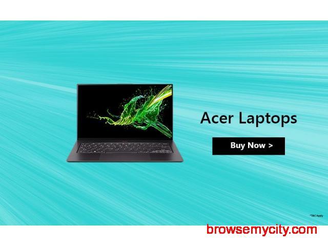 Acer Laptop Store in Lakdikapool | AppWorld 1800 123 4488 - 1/4