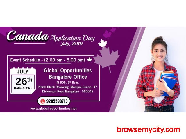 Attend Canada Application Day – Bangalore - 1/1