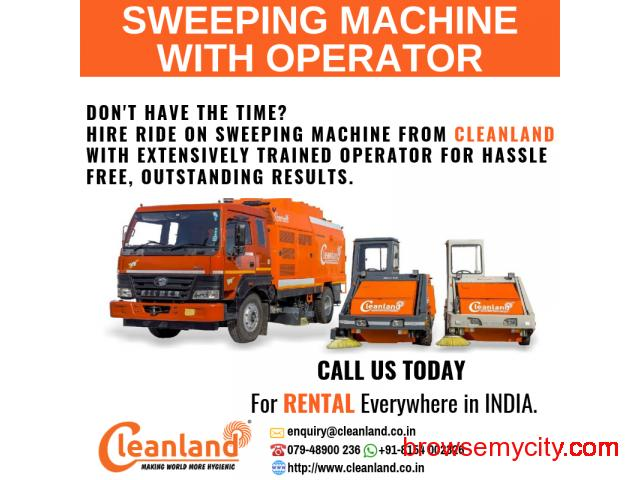 Sweeping Machine with Operator - 1/1
